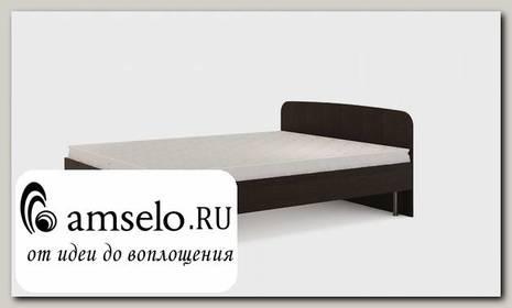 """Кровать 1600 с ортопед.осн-ем """"Рики"""" (Венге)"""