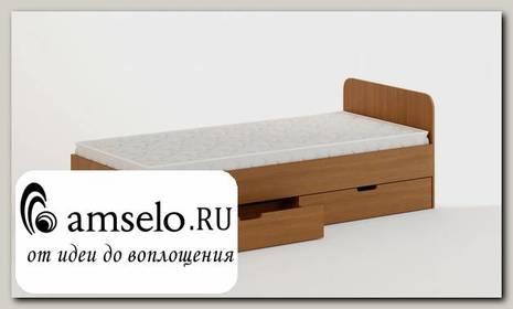 """Кровать с ящиками 900 """"Рики""""(Бук)"""
