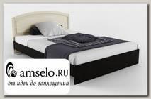 """Кровать 1400 """"Маджори"""" (Венге магия/Бел.дуб)"""