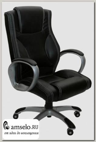 """Кресло """"Эдисон"""" (Кожзам чёрный/Пластик) А-CX/218М"""