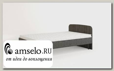 """Кровать 1200 с ортопед.осн-ем """"Рики"""" (Марсала)"""
