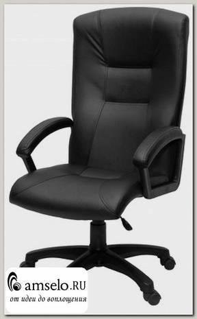 """Кресло alto """"Бенджамин"""" (Кожзам чёрный/Пластик) А-Ф3Н"""