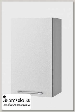 """Шкаф 400 """"Лакрима"""" (МДФ металлик) (Белый)"""