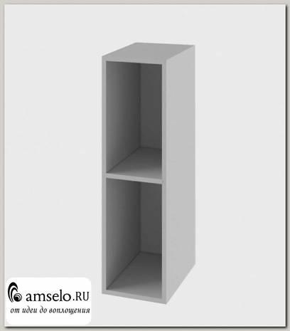 """Шкаф 200 """"Лакрима"""" (Серый)"""
