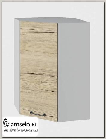 """Шкаф высокий угловой 550 """"The Loft"""" (МДФ) (Дуб майский)"""