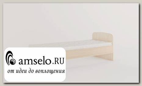 """Кровать 800 """"Рики"""" (Белёный дуб)"""