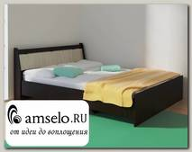 """Кровать 1400 """"Оливия"""" (Венге/Сосна астрид) D/Vn"""