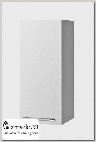 """Шкаф 300 """"Лакрима"""" (МДФ металлик) (Белый)"""