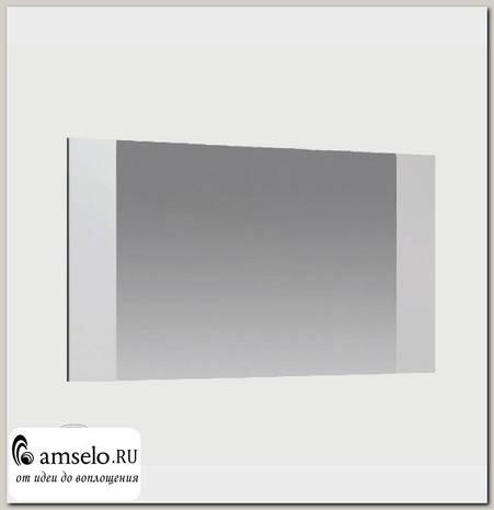 """Зеркало навесное """"Алисия"""" (МДФ) (Венге/Белый глянец)"""