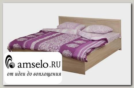"""Кровать 1600 с подъемн. мех-мом """"Фрида"""" (Дуб сонома)"""