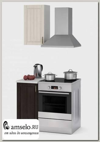 """Кухня 0,5 """"Миранда"""" (МДФ) (Дуб крем/Дуб венге)"""