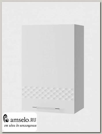 "Шкаф 450 decorazione ""Лакрима"" (МДФ глянец) (Белый)"