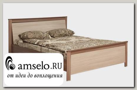 """Кровать 1600 """"Лила"""" (Ясень шимо темный/Ясень шимо светлый)"""