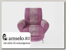 Кресло Torta (Жаккард Royal Rose/Ниттекс Shaggy Lilac)