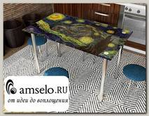 """Стол с фотопечатью 1,2 (_abstraction 2) """"Амели"""""""
