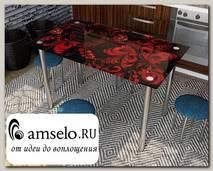 """Стол с фотопечатью 1,2 (_abstraction 7) """"Амели"""""""