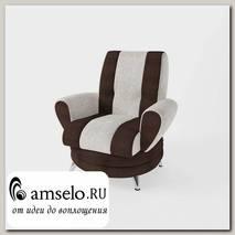 Кресло Torta (Велюр Astrum Besee (AT)/Велюр Shaggy Chocolate (AT))