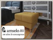 Банкетка quadro Вегас (Вельвет beige EG581-L12/Вельвет beige EG581-L12)