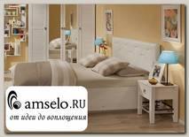 """Кровать 1600 с подъёмн.мех-м Luxe """"Сан Марино"""" (МДФ) (Бодега светлый/Винилкожа Белая)Gl/BR37.2"""