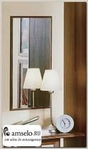 """Зеркало навесное """"Беатриче"""" (Орех)Gl/ ML1"""