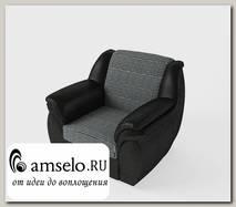 Кресло Дакота (Рогожка Skiff-8/Кожзам. полуматовый 306)