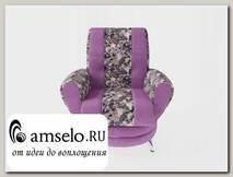 Кресло Torta (Велюр Sense Delicious Violet/Ниттекс Elva Violet)