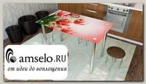 """Стол с фотопечатью 1,2 (flowers 6) """"Амели"""""""