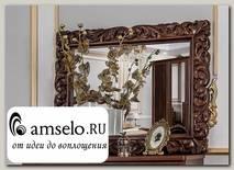 """Зеркало decore """"Таис"""" (МДФ) (Орех караваджо/Патина/Лак) UgAf"""