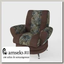 Кресло Torta (Велюр Delli Truffle (LE) (AT)/Велюр Glance Stone (AT))