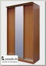 """Шкаф-купе 3-х дверный с зеркалом """"Рики"""" (Бук)"""