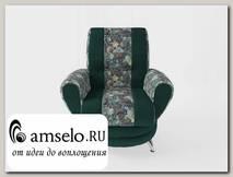 Кресло Torta (Велюр Sense Delicious Blue/Ниттекс Elva Atlantic)