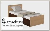 """Кровать 900 """"Роби"""" (Венге/Лоредо)"""