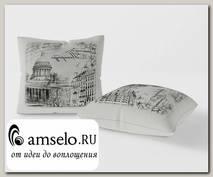 Подушка декор. 42x42 Torta (1шт.) (Микровелюр Petersburg Pillow 01A (SM))