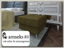 Банкетка quadro Вегас (Велюр bronze Asti com 05 (КН)/Велюр bronze Asti com 05 (КН))