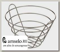 """Фруктовница vaso due 270/240/165 """"Асти"""" (Хром)КМ"""