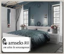 """Кровать 1600""""Кэтрин"""" (МДФ) (Белый)"""