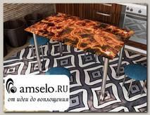 """Стол с фотопечатью 1,2 (_abstraction 3) """"Амели"""""""