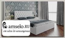 """Кровать 1600 """"Snow"""" (Белый/Экокожа Белая)"""