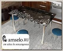 """Стол с фотопечатью 1,2 (_abstraction 1) """"Амели"""""""