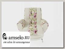 Кресло Torta (Микровелюр Romantic 82/Микровелюр Fresh com 13)
