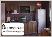 """Кухня 2,1 """"Марио"""" (Пепел/Дуб Сакраменто)"""