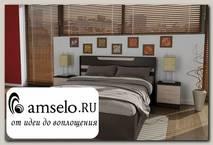 """Кровать 1600 с подъемн.мех-м comb """"Hanny"""" (Венге/Дуб)"""