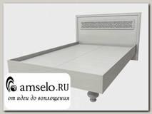 """Кровать 1400 belle """"Валенсия"""" (МДФ)(Дуб белёный)/ИЦВк-КР140"""
