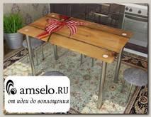 """Стол с фотопечатью 1,2 (table 3) """"Амели"""""""