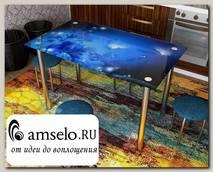 """Стол с фотопечатью 1,2 (_abstraction 9) """"Амели"""""""