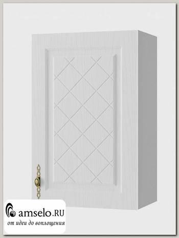 """Шкаф 450 """"Лорен"""" (МДФ) (Белый)"""