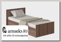 """Кровать 900 """"Роби"""" (Ясень Шимо)"""