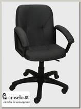"""Кресло """"Доминик"""" (Ткань серая треплиров./Пластик) А-Ф1"""