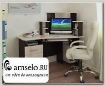 """Стол компьютерный угловой tng """"Лаки"""" (Венге/Лоредо)"""