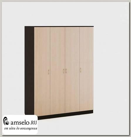 """Шкаф распашной 4-х дверный """"Рики"""" (Венге/Бел.дуб)"""